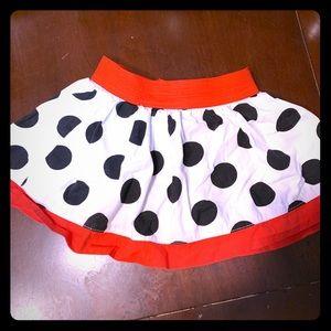 Disney Minnie Mouse Polka Dot Skort 24mo. Like new